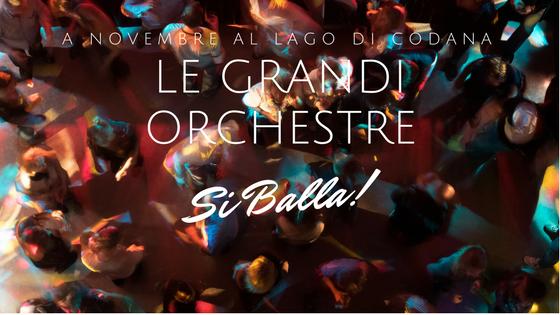 A Novembre arrivano le grandi orchestre a ballo al Lago di Codana