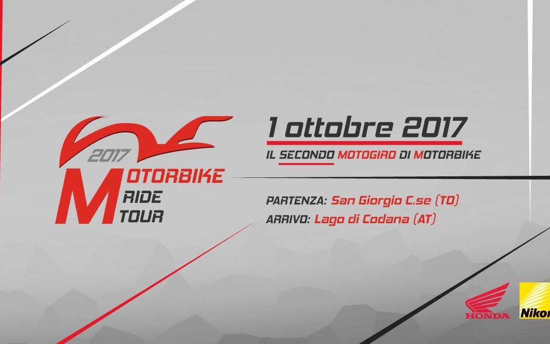 1 ottobre Motorbike Ride Tour 2017