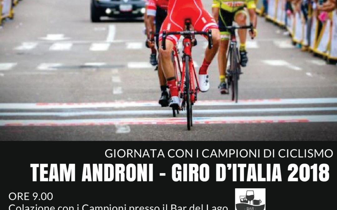 Codana Guest Star December 3, 2017 – Team Androni Giocattoli are guests at Lago di Codana