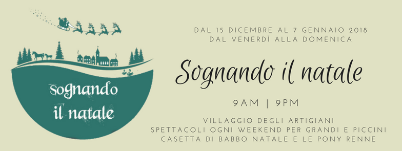 From December 15, 2017 to January 7, 2018, Lago di Codana is dreaming of Christmas 2017