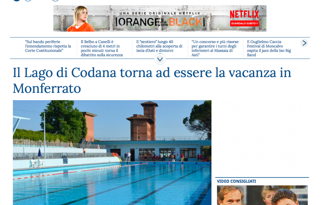 Rassegna Stampa Agosto 2018