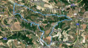 Anello di Codana - 3 marzo 2019 - Mappa