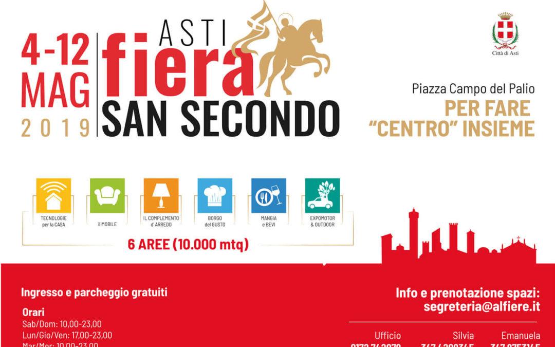 Fiera San Secondo Asti 4-12 maggio 2019