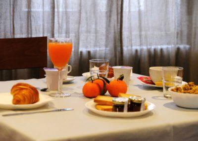 Sala colazioni – Il buffet