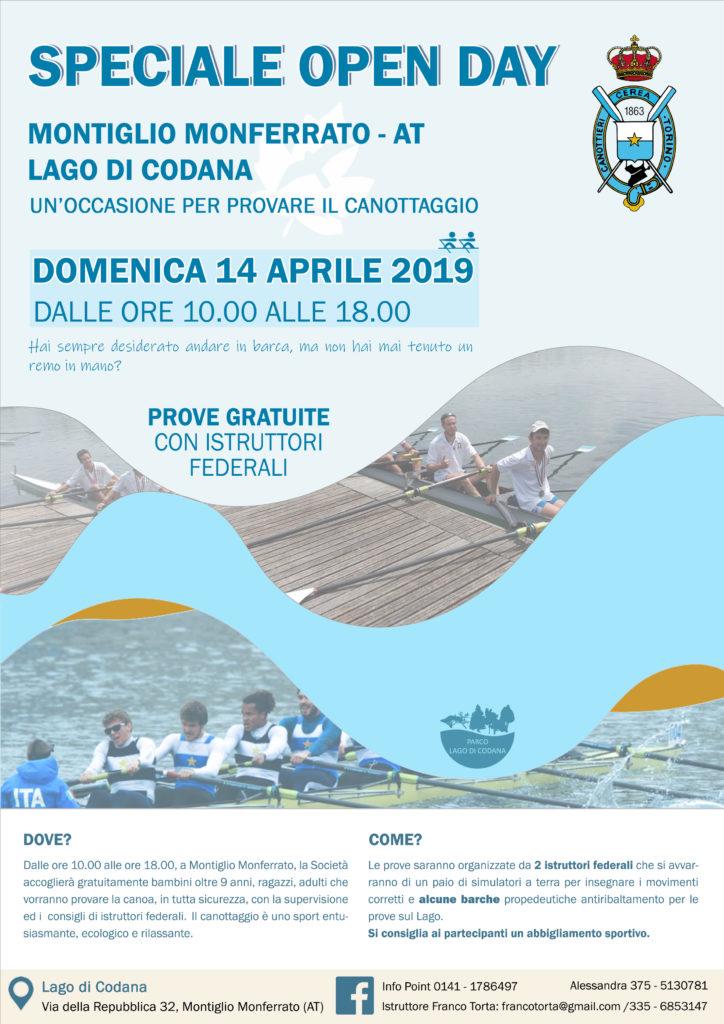 Open Day Canottaggio 14 aprile 2019