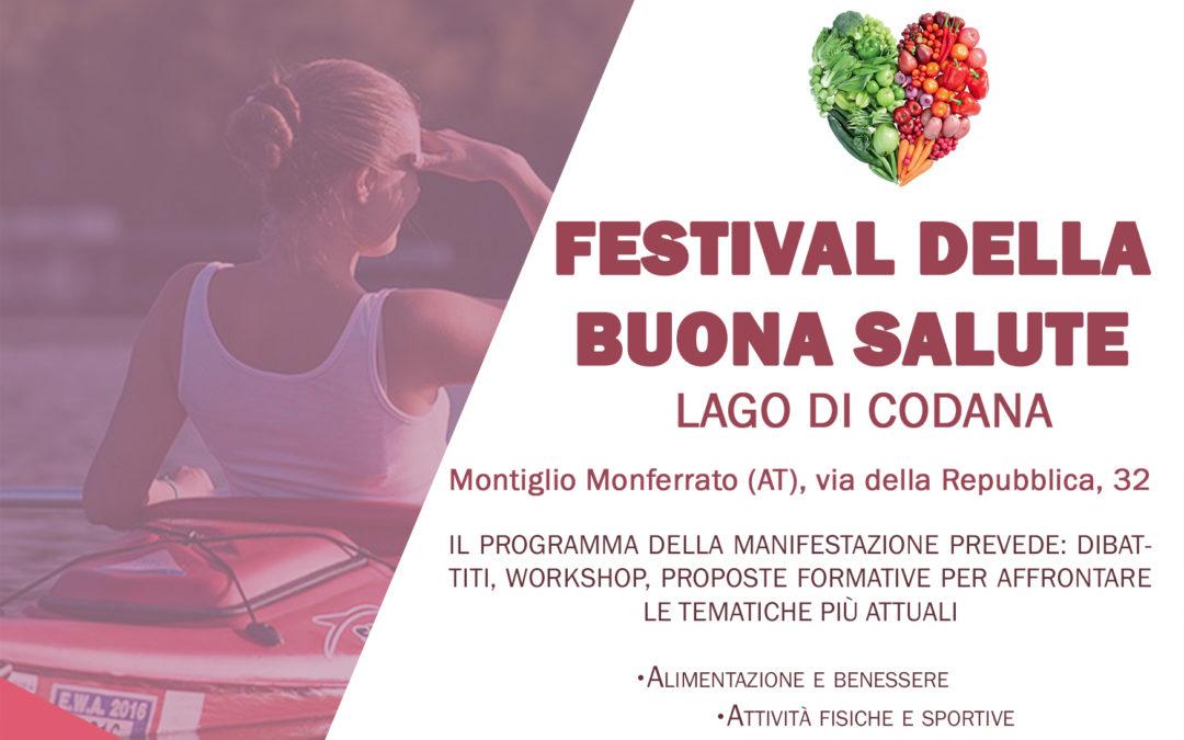 Festival della Buona Salute – Sabato 1 e Domenica 2 giugno 2019 Montiglio Monferrato.