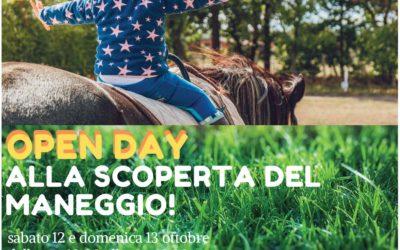 Open Day Maneggio – 12 e 13 Ottobre