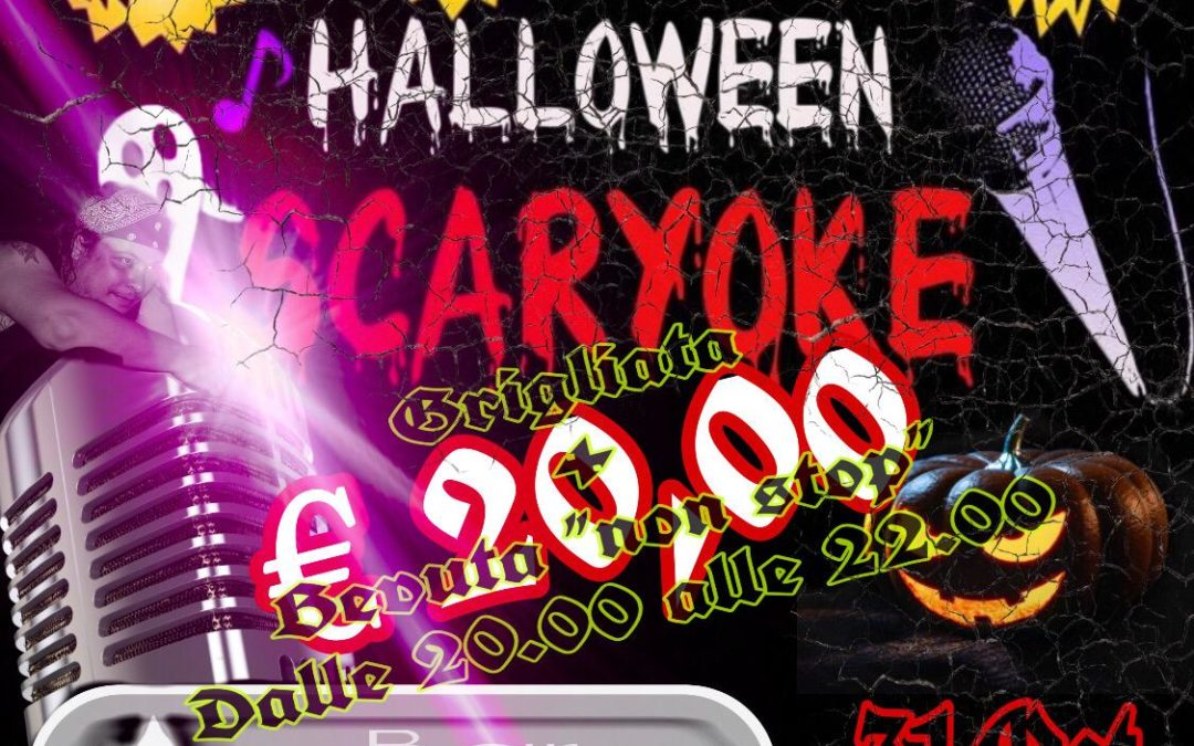Halloween Scaryoke al Lago di Codana