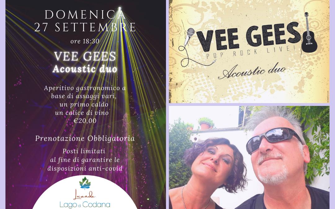 Vee Gees Acoustic Duo alla Locanda Lago di Codana