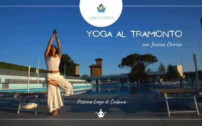 Yoga al tramonto con Jessica Chirico