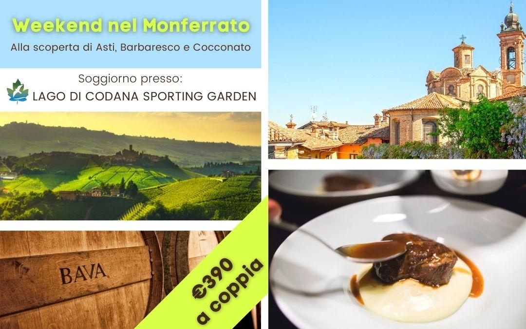 Weekend nel Monferrato alla scoperta di Asti e le Langhe, con visita a Barbaresco, Neive e Cocconato: borghi tra i più belli d'Italia.
