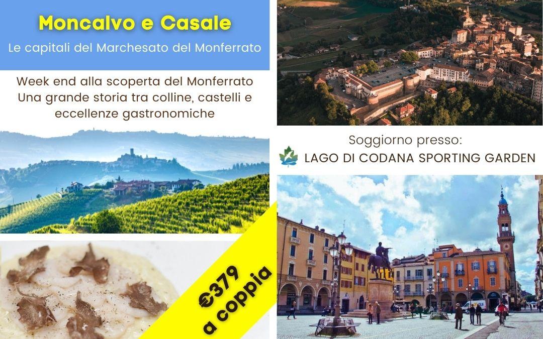Weekend tra le Capitali del Marchesato del Monferrato: Moncalvo e Casale